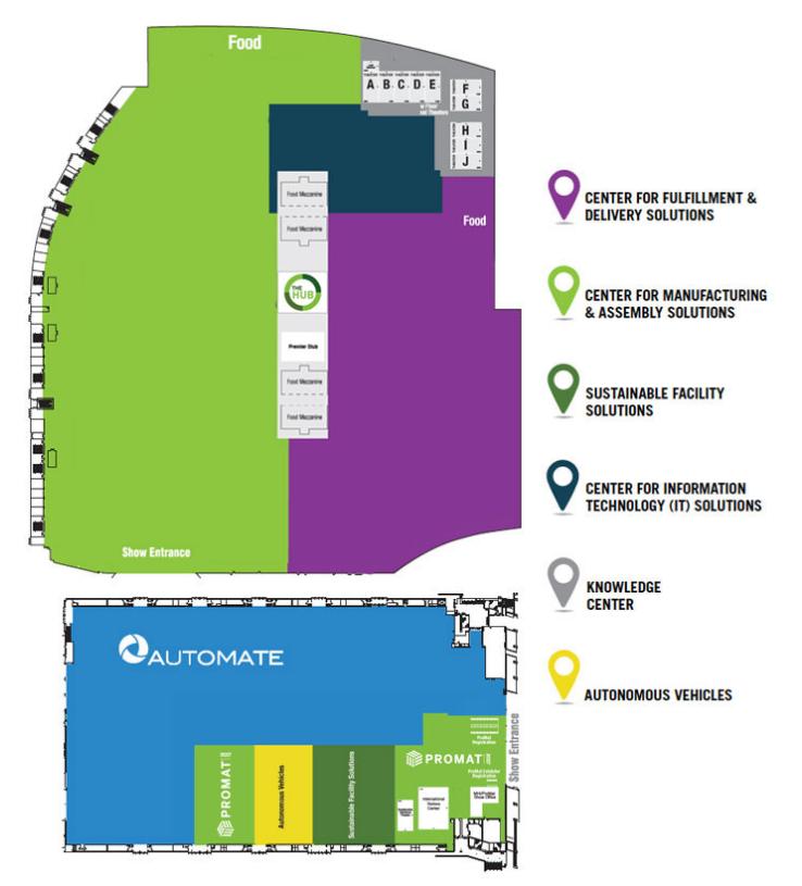 ProMat17 Floorplan