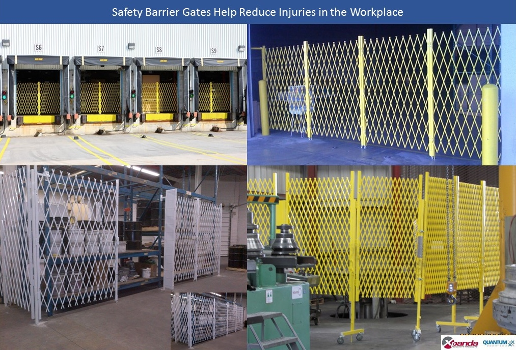 Avoiding Injuries in the Workplace with Access Control Gates