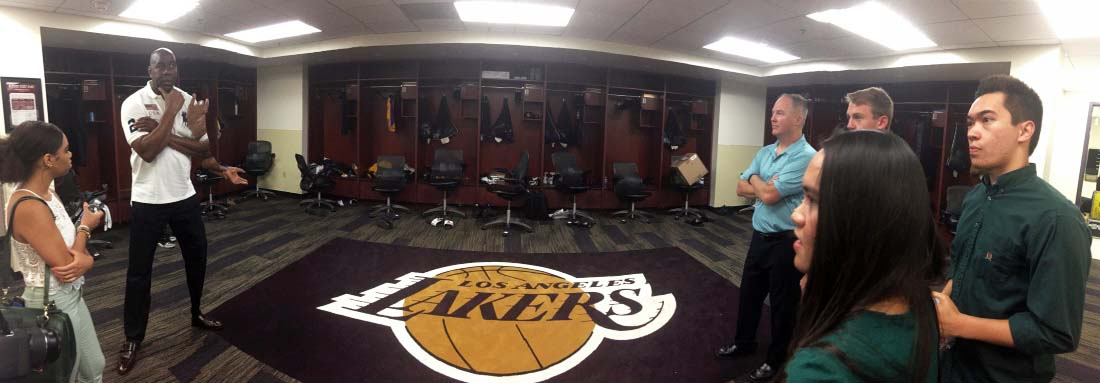 Laker Locker Room
