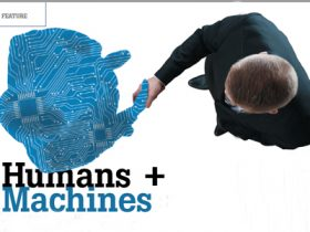 Humans + machines